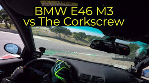 BMW E46 M3 vs Laguna Seca Corkscrew - New PB and OOPS I TOOK THE ...