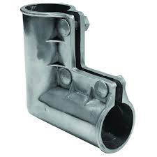 Yardgard 1 3 8 In Galvanized Gate Elbow With Bolts 328623c The Home Depot