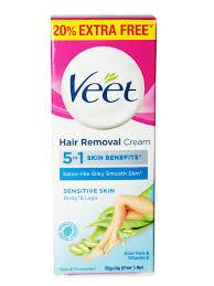 sensitive skin hair removal cream 25 g