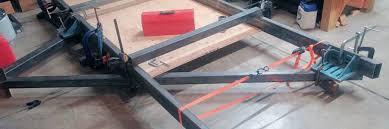 trailer frame build 5 easy tips on