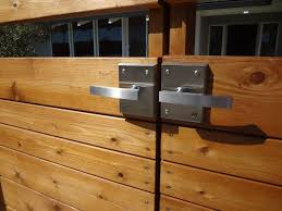 Baby Gate Latch Hardware Idea Gate Latch Wood Fence Latches Hardware