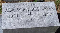 Ada Scroggs Meyer (1901-1949) - Find A Grave Memorial