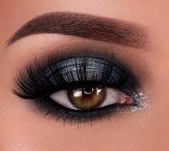 black eye makeup is all the rage for