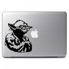 Star Wars Yoda Apple Macbook Air Pro 13 15 17 Vinyl Decal Sticker Dreamy Jumpers