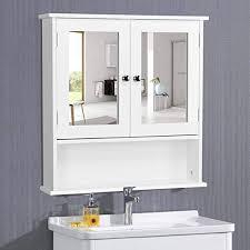 bathroom mirror cabinet wall mounted