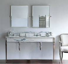 rectangle pivoting bathroom mirror