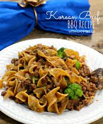 korean bbq beef with cbell s wanna