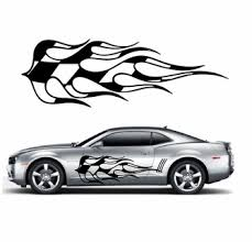 Racing Car Graphics Pinstirpes Window Vinyl Car Wall Decal Sticker Stickers 01