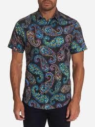 Robert Graham - Piston Short Sleeve Shirt – Reg Wilkinson's Men's Wear