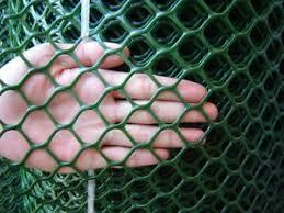 Rigid Green Plastic Garden Fencing Mesh Hexagonal Plastic Plant Support Mesh Ebay