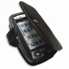 Nokia 7710 Leather Flip Cover (Black ...