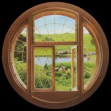 Weta Workshop Hobbit Window Wall Decal