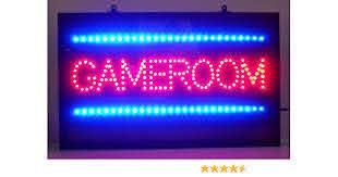 Amazon Com Neonetics 5gamle Game Room Led Sign Home Improvement