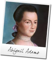 Abigail Adams | Anecdotes | Paw Prints