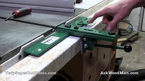 4 6 Adjustable Throat T Square Table Saw Fence Reset On A 3 X2 Steel Tubing Guide Rail Youtube