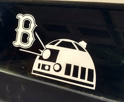 Pin By Rae Kell On Baseball Decals Star Wars Decal Red Sox Baseball Decals
