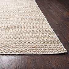 ramsey handmade flatweave sand chevron
