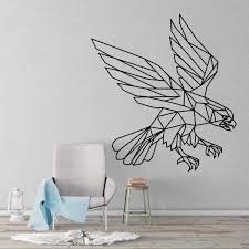 Eagle Geometric Wall Decal Kuarki Lifestyle Solutions