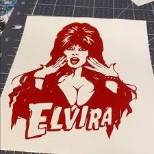 Hot Topic Wall Art 815 Elvira Vinyl Decal Poshmark