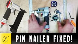 pin nailer won t fire fixed you