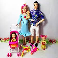 Gia Đình đồ chơi 5 Người Thời Trang Búp Bê Phù Hợp Với 1 Mom/1Dad ...