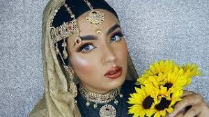 list bridal eye makeup tutorial in urdu