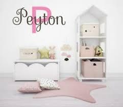Girls Name Wall Decal Vinyl Baby Nursery Bedroom Personalized Name Wall Art Ebay