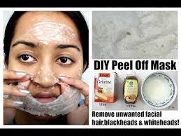 remove unwanted hair blackheads