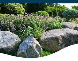 specimen boulders outcropping stones