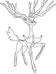 Pokemon Kleurplaten Xerneas Check More At Https Olivinum Com