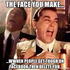 Image result for facebook tough guys memes