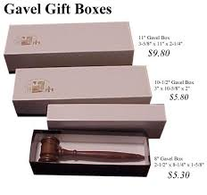 gift bo for gavels page