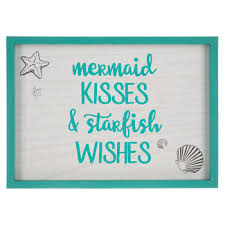Mermaid Kisses Wood Wall Decor Hobby Lobby 1665587