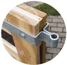 Snug Cottage Hardware Heavy Duty Double Strap Hinges For 3 Thick Wood Gates Central Eye Each Wood Gate Heavy Duty Gate Hinges Wooden Gates