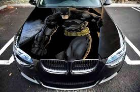 Vinyl Car Hood Bonnet Batman Comics Hero Graphics Decal Etsy