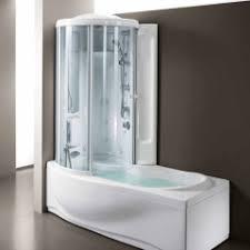 Душевая кабина с ванной (81 фото): выбор модели: совмещенная ...