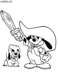 Kleurplaat Mickey Mouse De Mooiste Kleurplaten Milito Nl