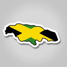 reggae red yellow green sticker free