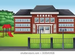 School Building Clipart Images Stock Photos Vectors Shutterstock