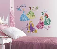 Amazon Com New Disney Princess Royal Debut Wall Decals Princesses Stickers Girls Room Decor Kitchen Dining