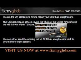 ghd repairs faulty with a cable and