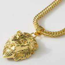 hiphop gold necklaces pendants men