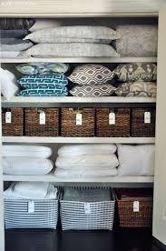8 linen closet storage s to help