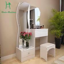 dressing table white modern simple