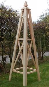 wooden garden obelisks the bolas
