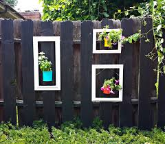 8 Unusual Ways To Make Your Garden Fence As Eye Catching As Possible