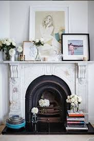 work of art classic fireplace house