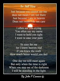 in memory of my husband letter from heaven grief lost quotes