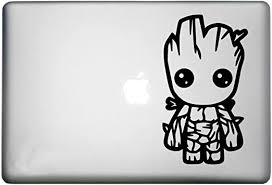 Amazon Com Baby Groot Sticker Macbook Pro Decal Is A Baby Groot Plant Vinyl Decal Laptop Sizes 11 12 13 And 15 Inch Looks Great With Your Guardians Of The Galaxy Theme Many