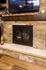 high ridge drive stone fireplace